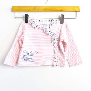 🌺2/15$  baby striped beach theme infant girl